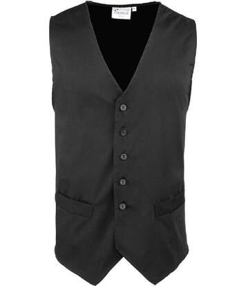 Gilet sans manches - PR620 noir - veston serveur homme