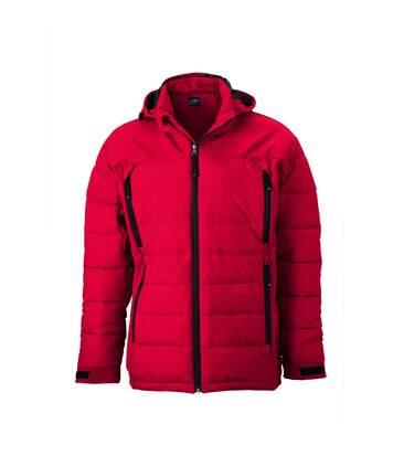 Veste matelassée Homme anorak ski / neige - JN1050 - rouge