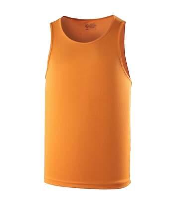 Just Cool Mens Sports Gym Plain Tank / Vest Top (Royal Blue) - UTRW687