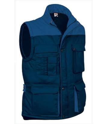 Veste sans manches - Homme - REF THUNDER - navy bleu roi