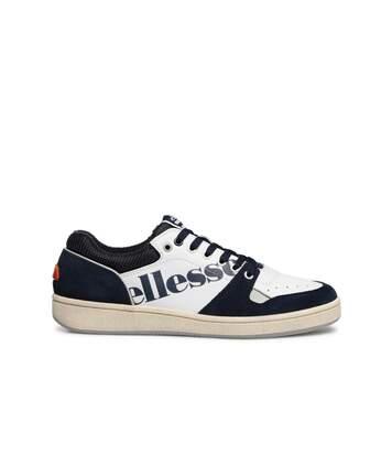 Sneakers cuir bicolores  -  Ellesse - Femme