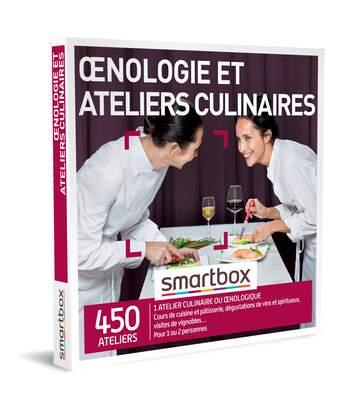 SMARTBOX - Œnologie et ateliers culinaires - Coffret Cadeau Gastronomie