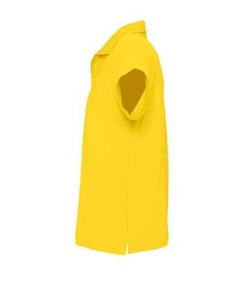 SOLS Mens Summer II Pique Short Sleeve Polo Shirt (Army) - UTPC318