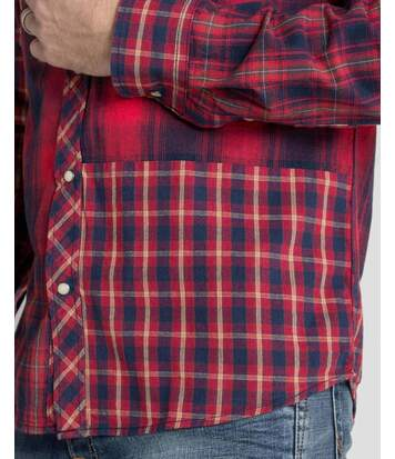Chemise de marque homme FILOR à carreaux