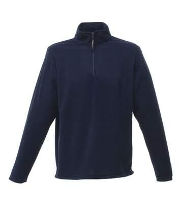 Regatta Mens Micro Zip Neck Fleece Top (Dark Navy) - UTRG1580