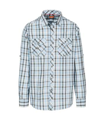 Trespass Mens Collector Check Shirt (Blue Check) - UTTP4291