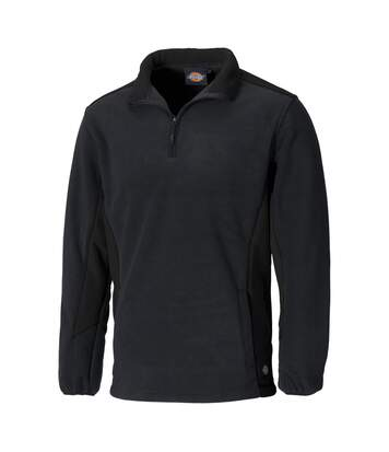 Dickies Mens Zip Up Micro Fleece Jacket (Red/Black) - UTPC2729