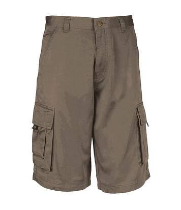 Kariban Mens Trekker Shorts (Light Olive) - UTRW735
