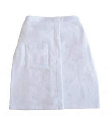 Paréo de bain - serviette de sauna - JASSZ - TO3520 - blanc