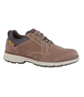 Woodland Mens Nubuck Casual Shoe (Brown) - UTDF1854
