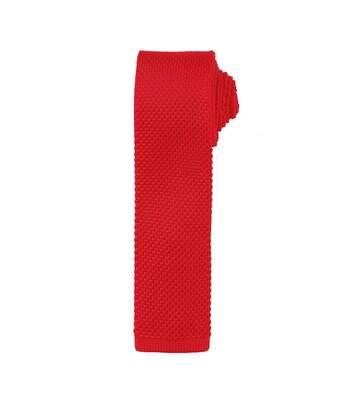Premier - Cravate Effet Tricot - Homme (Lot De 2) (Rouge) - UTRW6946