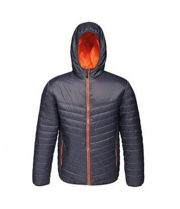 Regatta Standout Mens Acadia II Down-Touch Padded Jacket (Black/Classic Red) - UTPC3321