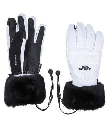 Trespass Womens/Ladies Yanki Gloves (White) - UTTP4575