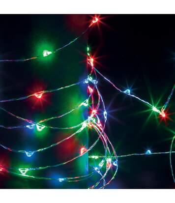 Feeric Christmas - Guirlande Lumineuse Intérieure et Extérieure 20 m 200 MicroLED Multicolore et 8 jeux de lumière