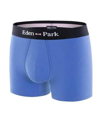 EDEN PARK Boxer Homme Coton ONE Bleu