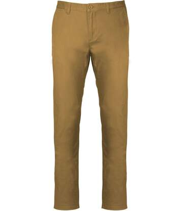 pantalon chino pour homme - K740 - beige camel