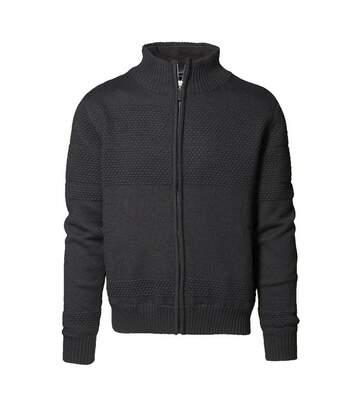 ID Mens Full Zip Regular Fitting Windbreaker Jacket (Black) - UTID197