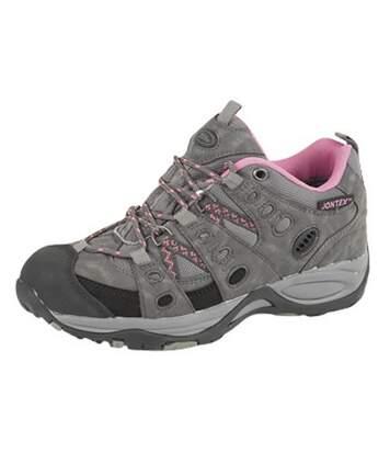 Johnscliffe Cascade - Chaussures De Randonnée - Femme (Gris/Fuchsia) (38 EU) - UTDF955