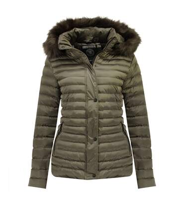 Doudoune Taupe femme Geographical Norway Darmon