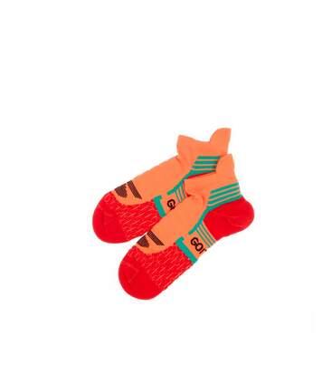 Chaussettes Running Orange Femme Skechers