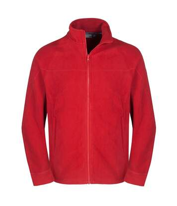 Craghoppers Mens Expert Basecamp Microfleece Full Zip Jacket (Red) - UTCG794