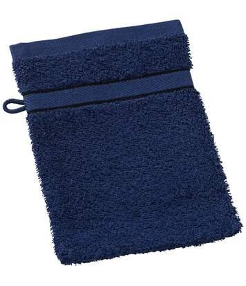 Gant de toilette - éponge - MB435 - bleu marine
