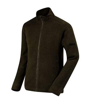 Regatta Mens Braden Fleece (Dark Khaki) - UTRG3065