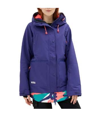 Veste de ski violette femme DC Shoes RIJI Jkt J SNJT