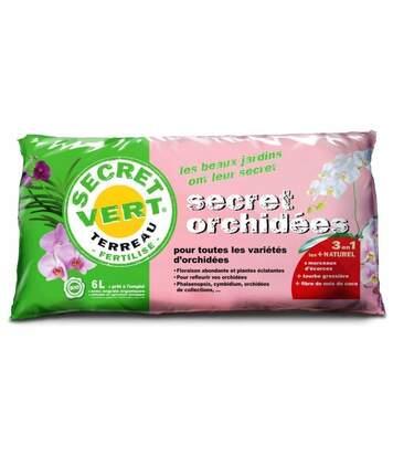 Terreau pour orchidées 1,2kg