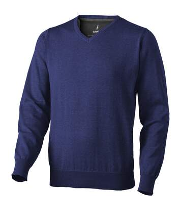 Elevate Mens Spruce V-Neck Jumper (Navy) - UTPF1854