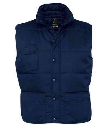 Veste sans manches matelassée - bodywarmer workwear - PRO 80503 - bleu marine