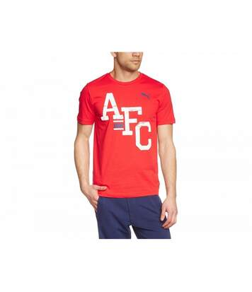 Puma Arsenal FC Official Mens AFC T-Shirt (Red) - UTBS938