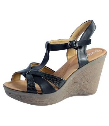 Sandales Compenseée  Lisa Bendi