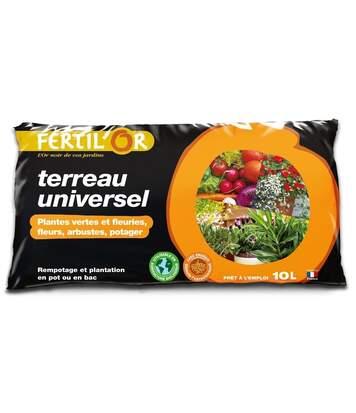 Terreau universel plantation / rempotage en pot 10 litres