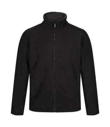 Regatta Mens Garrian Full Zip Jacket (Black/Briar) - UTRG3647
