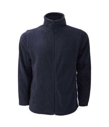 Russell Mens Full Zip Outdoor Fleece Jacket (French Navy) - UTBC575