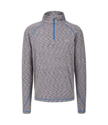 Trespass Mens Zayn Long Sleeve Active Top (Grey Marl) - UTTP3576