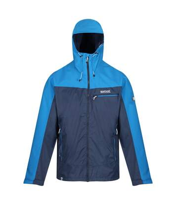 Regatta Mens Highton Stretch Waterproof Jacket (Nightfall Navy/Imperial Blue) - UTRG4936