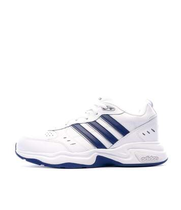 Chaussures de sport blanches homme Adidas Strutter Wide