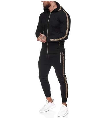 Ensemble jogging homme Survêt 1424 noir