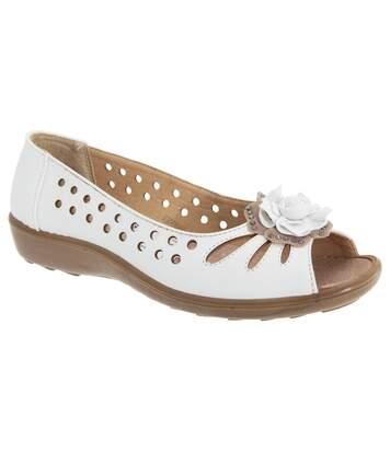 Boulevard - Chaussures D'été - Femme (Blanc) - UTDF445