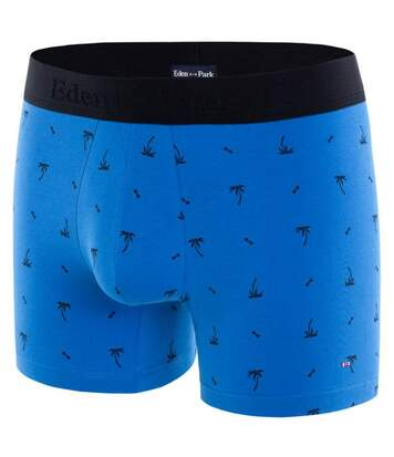 EDEN PARK Boxer Homme Coton PALMNOEUD Bleu Marine