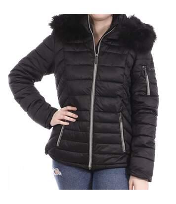 Manteau de ski Noir Femme Sun Valley Remine
