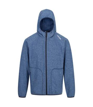 Regatta Mens Luzon II Full Zip Hooded Fleece Jacket (Prussian Blue) - UTRG4564