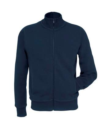 B&C Mens Spider Full Zip Sweatshirt (Black) - UTBC3867