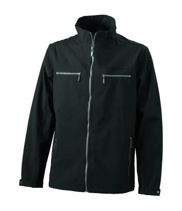 Veste moulante softshell HOMME JN1058 - noir