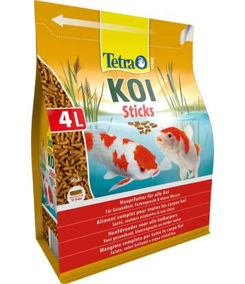 Aliments complets pour carpes Koïs Sticks 4L