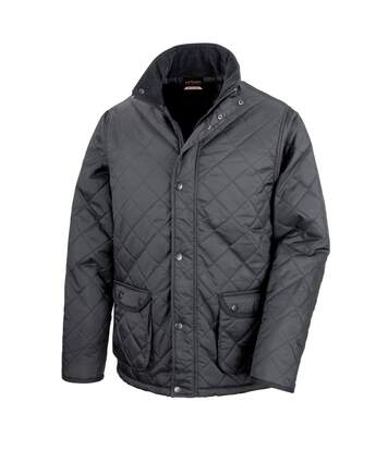 Result Mens Urban Cheltenham Water Repellent Jacket (Black) - UTBC892