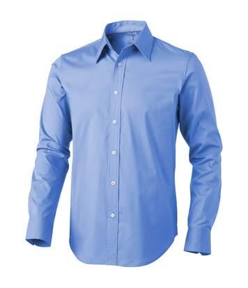 Elevate Hamilton Long Sleeve Shirt (Light Blue) - UTPF1837