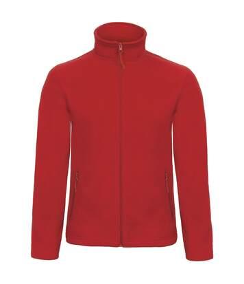 B&C Collection Mens ID 501 Microfleece Jacket (Dark Grey) - UTRW3527